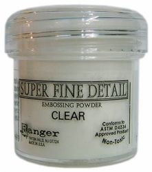 Ranger Embossing Powder - Super Fine Detail Clear